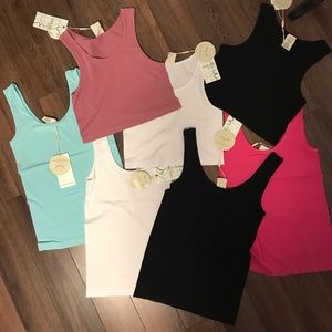 Gorgeous Bamboo Tanks and Crop tops!